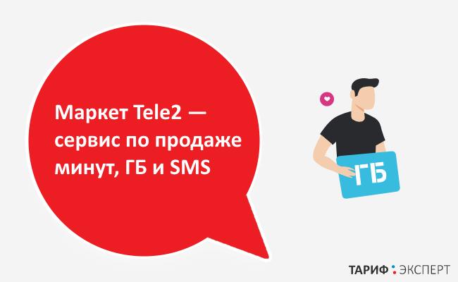 Сервис по продаже минут, ГБ и SMS